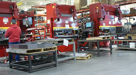 GHI Manufacturing CNC Forming operations and services serves Southeastern WI and Northern IL