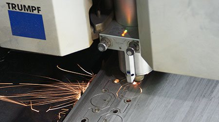 Metal Sheet Laser Cutting and Processing Services including as water jet cutting offered through GHI