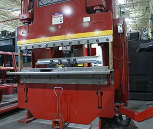 GHI Laser utilizes 10 Press Brakes and 1 Robotic Bending Cell for CNC Forming