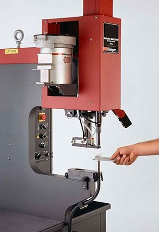 PEM Insertion Auto Feed metal fabrication equipment