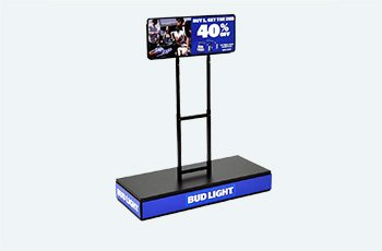 Bud Light Stand - laser cutting, tube bending, PEM insertion processes